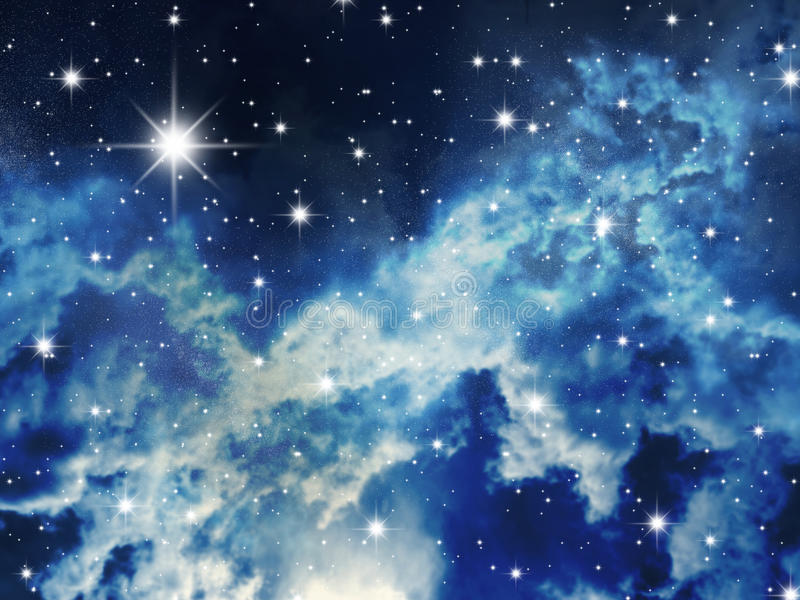 Estrellado stock de ilustración