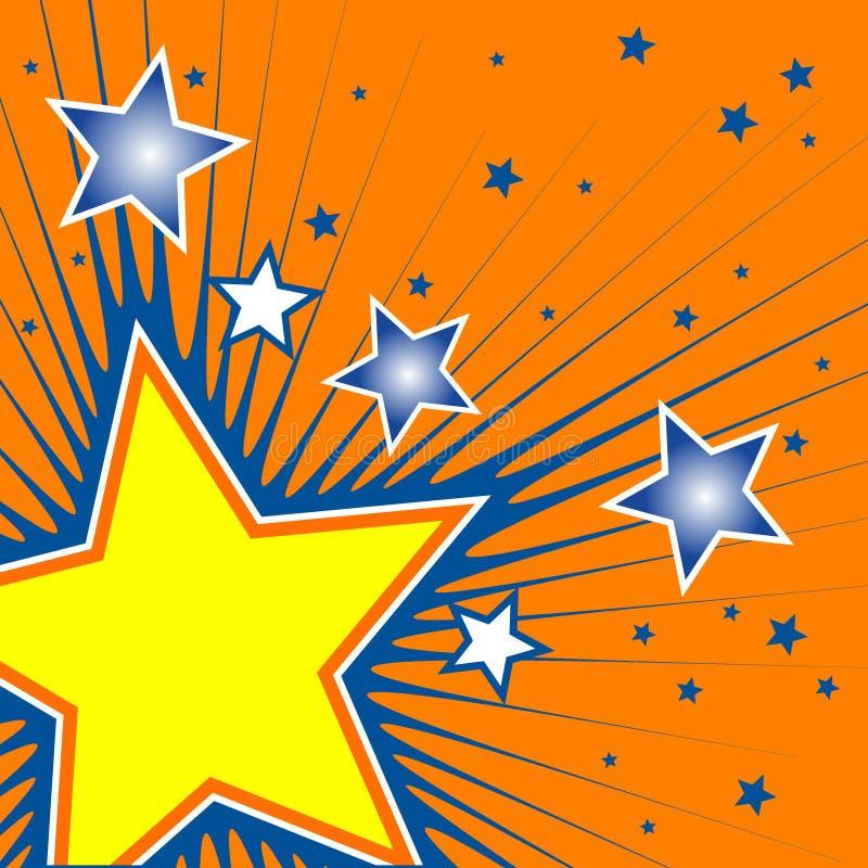 Estrellas ilustración del vector