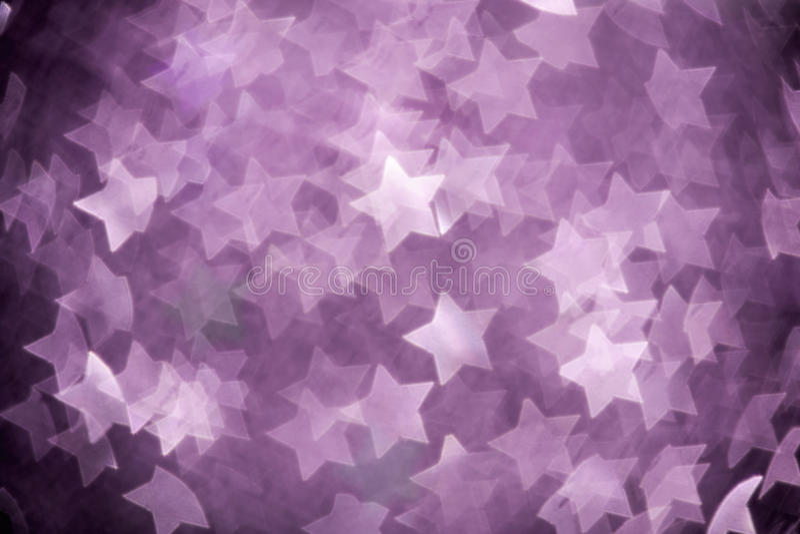 Estrellas abstractas de la Navidad fotografía de archivo libre de regalías
