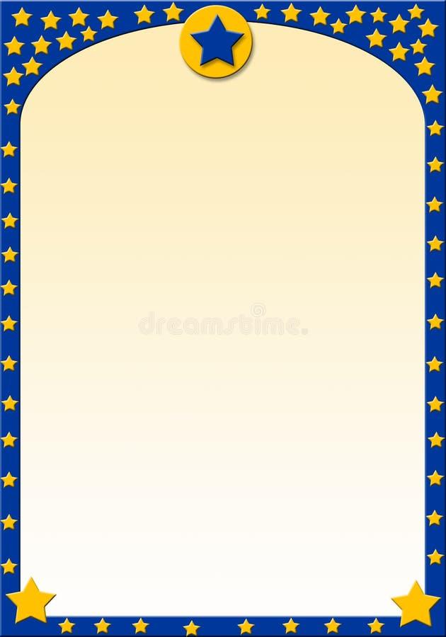 Download Estrellas amarillas stock de ilustración. Ilustración de plantas - 1293179