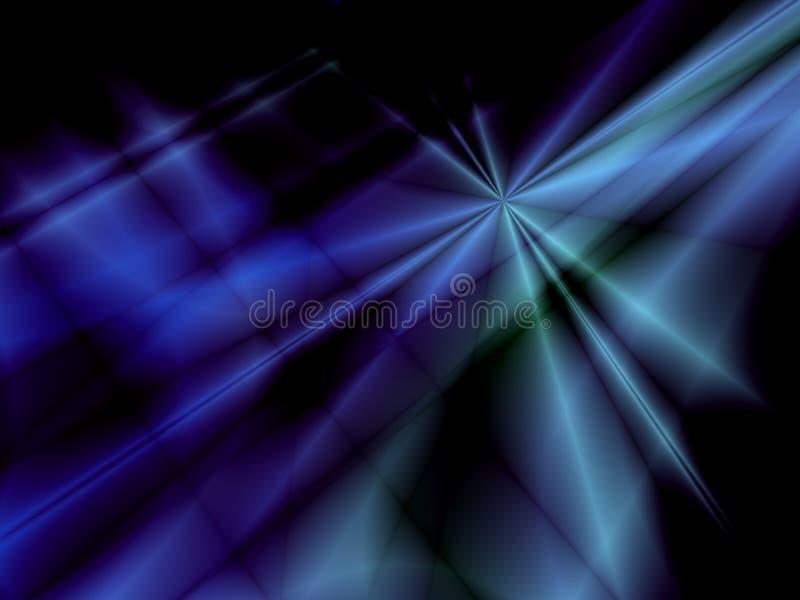 Estrellas azules ilustración del vector