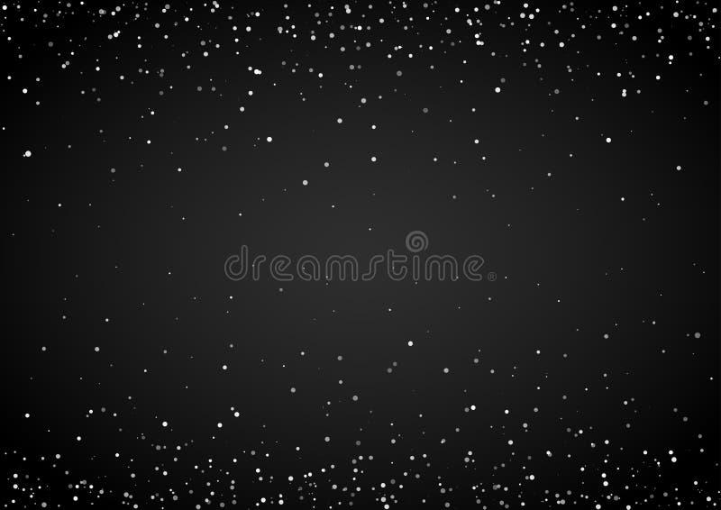 Estrellas azules múltiples stock de ilustración