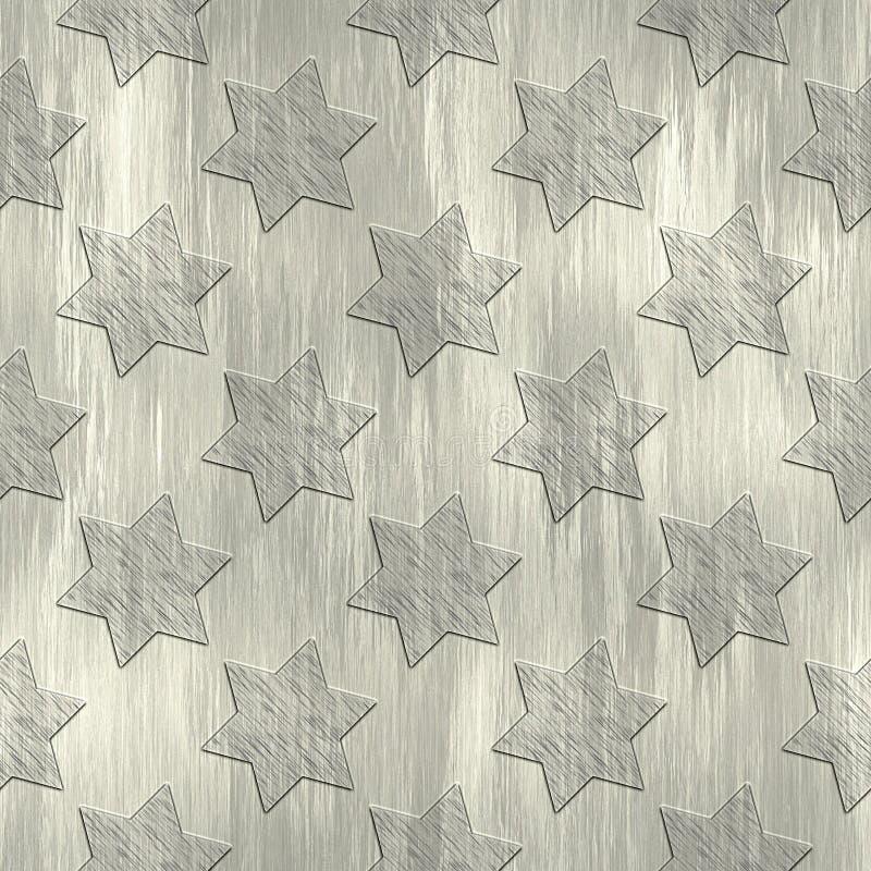 Estrellas de David ilustración del vector