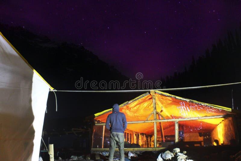 Estrellas de Himachal Pradesh imagen de archivo