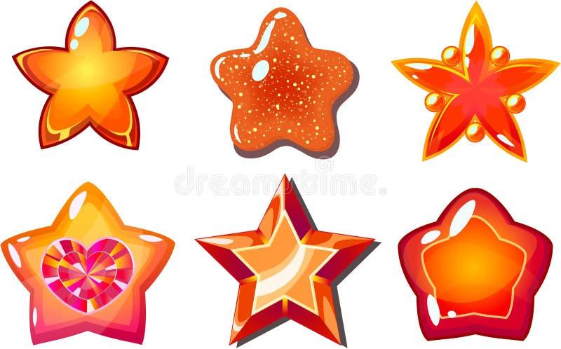 Estrellas de la llama libre illustration