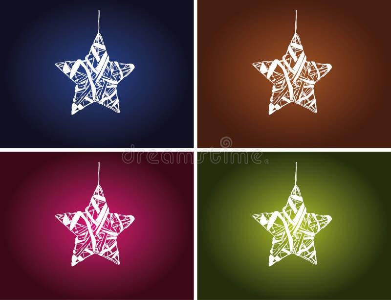 Estrellas de la Navidad libre illustration