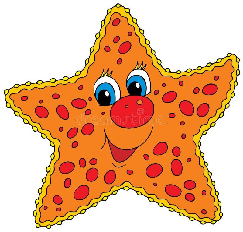 Estrellas de mar stock de ilustración