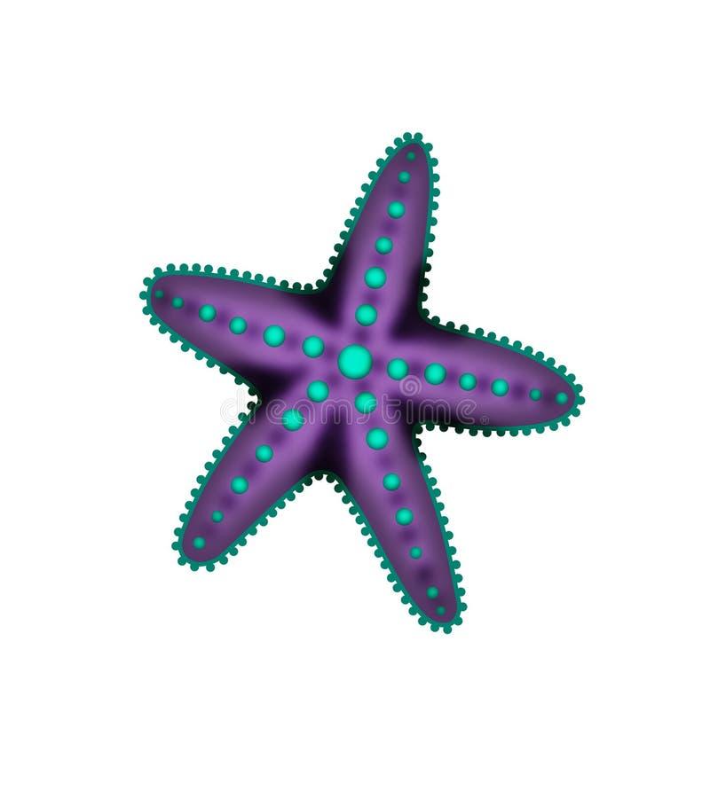 Estrellas de mar ilustración del vector