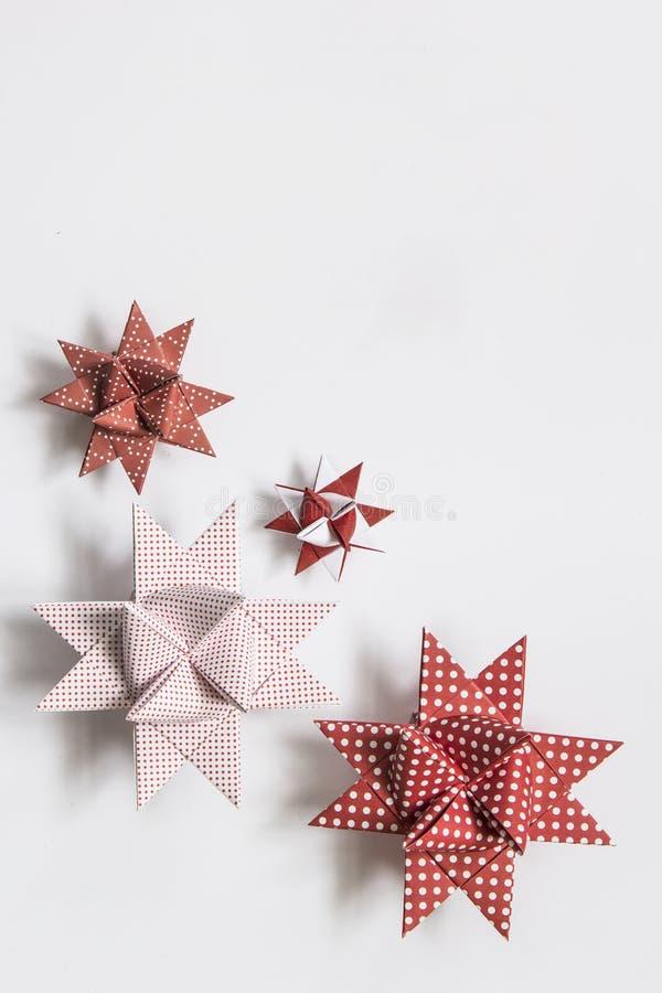 Estrellas de Moravian imágenes de archivo libres de regalías