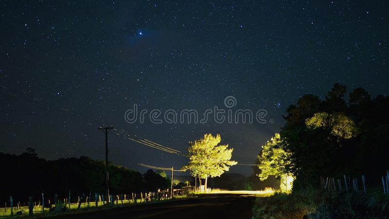 Estrellas de Valle Hermoso imagem de stock royalty free