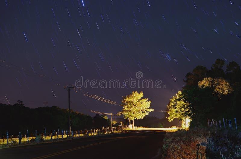Estrellas de Valle Hermoso foto de stock
