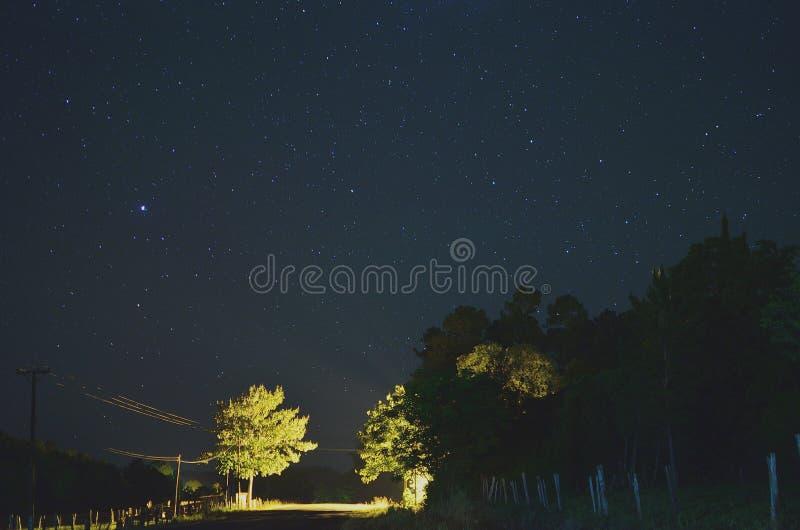 Estrellas de Valle Hermoso fotografia de stock royalty free