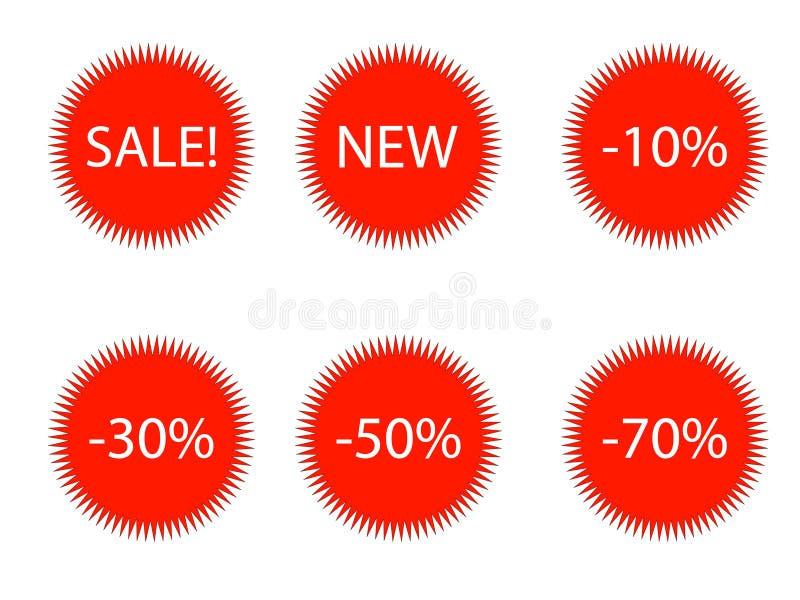 Estrellas del vector fotos de archivo libres de regalías