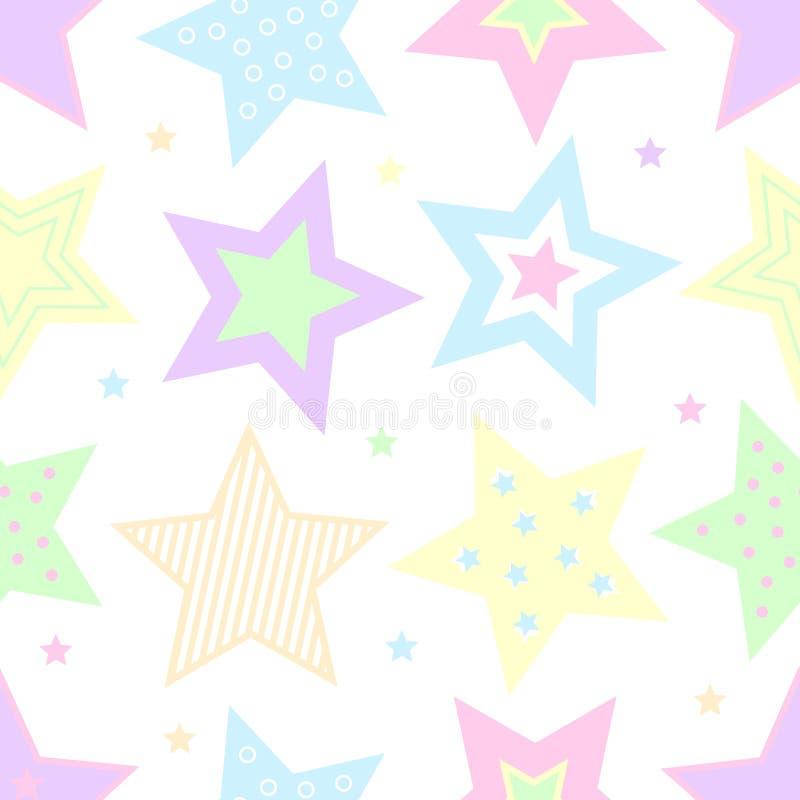 Estrellas en colores pastel