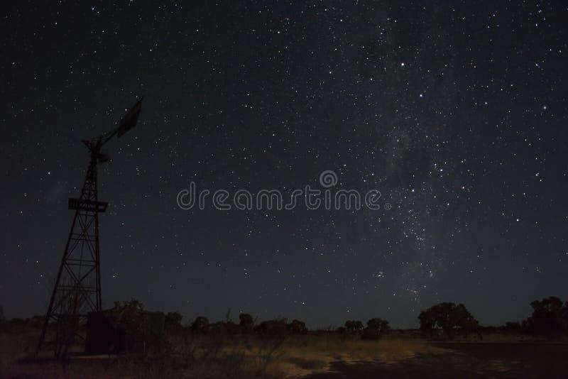 Estrellas en el interior de Australia imagenes de archivo