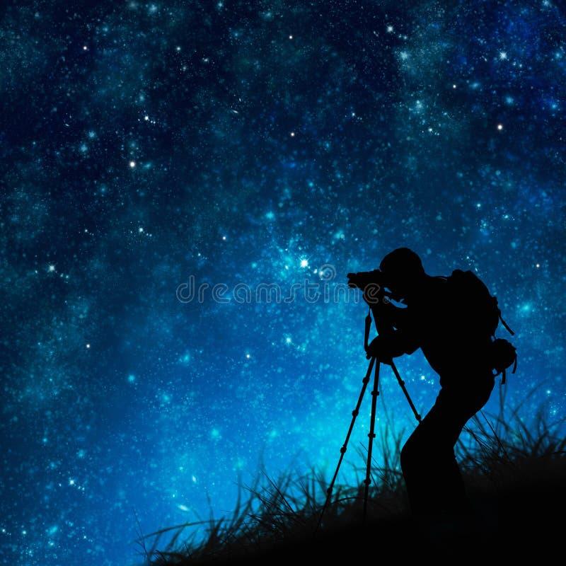 Estrellas fugaces del fotógrafo libre illustration