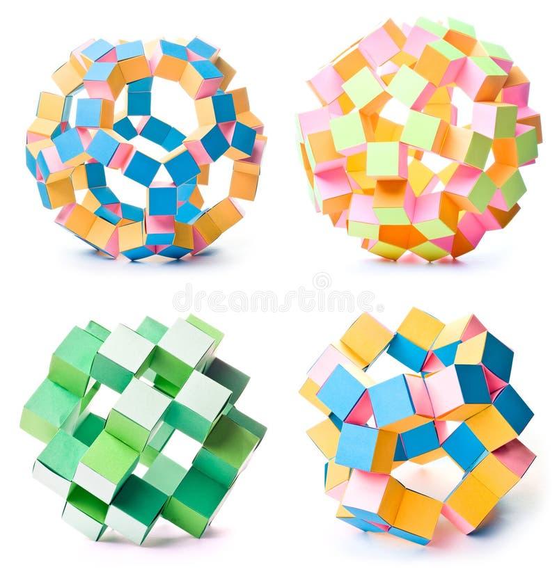 Estrellas geométricas fotos de archivo