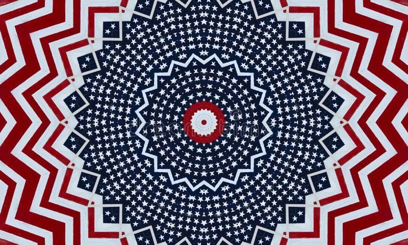 Estrellas y fondo americanos de las rayas fotografía de archivo