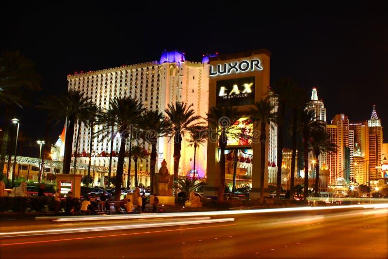 Estremità del sud della striscia di Las Vegas immagini stock libere da diritti
