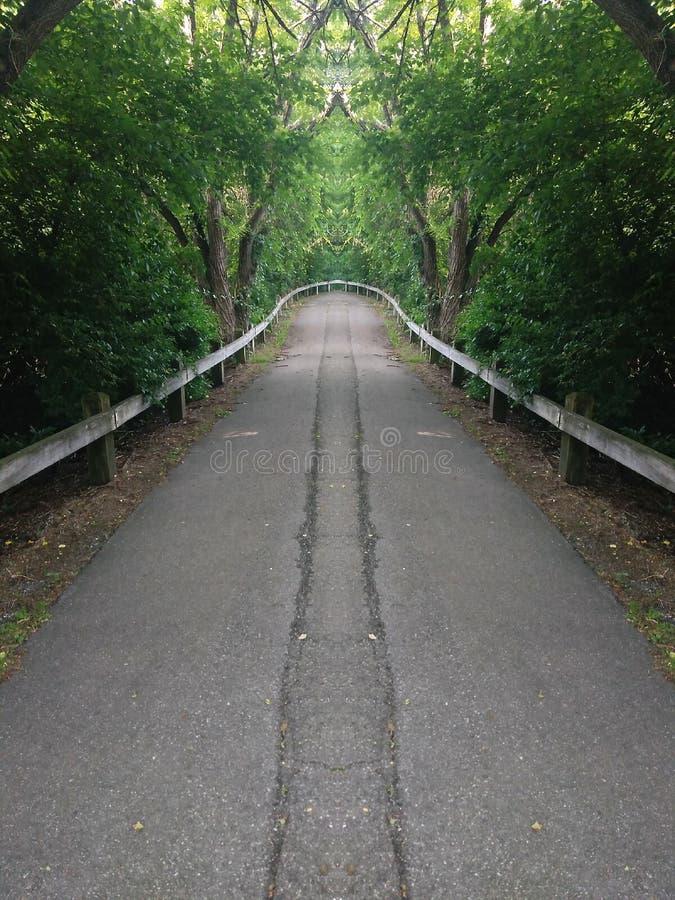 Estremità della strada fotografie stock libere da diritti