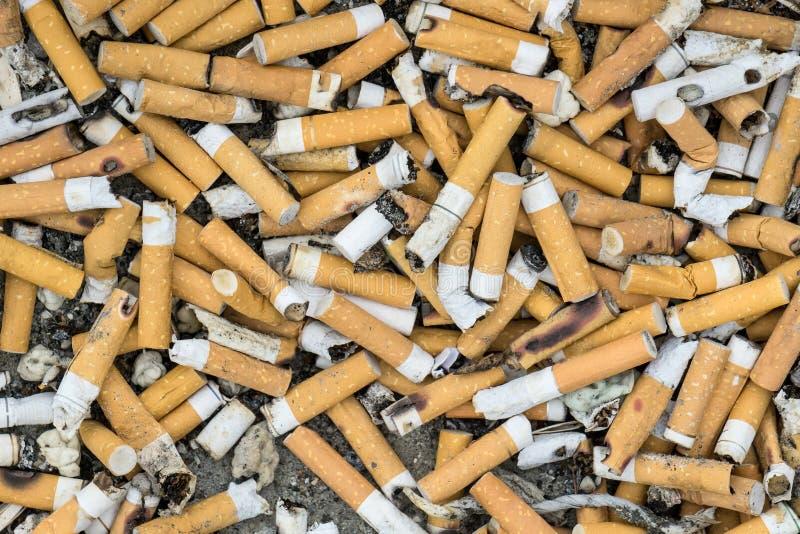 Download Estremità di sigaretta fotografia stock. Immagine di immondizia - 55363114