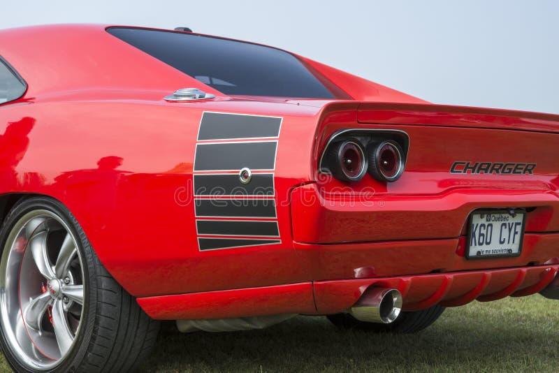 Estremità posteriore del caricatore di Dodge fotografia stock