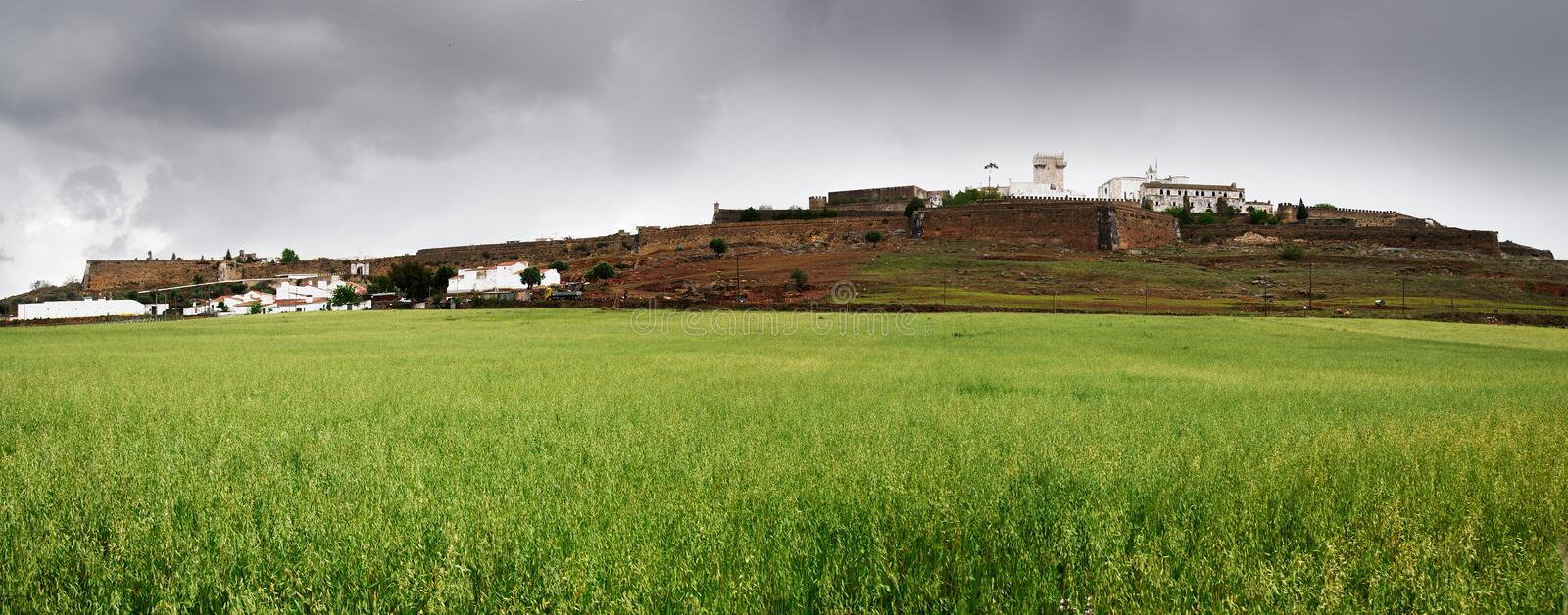 Download Estremoz wall stock image. Image of field, alentejo, ancient - 29010735