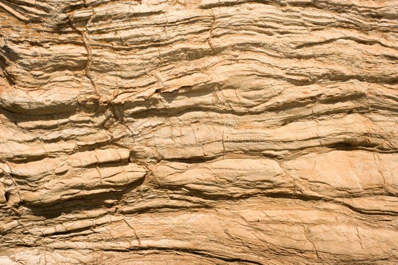 Estriación de la roca foto de archivo