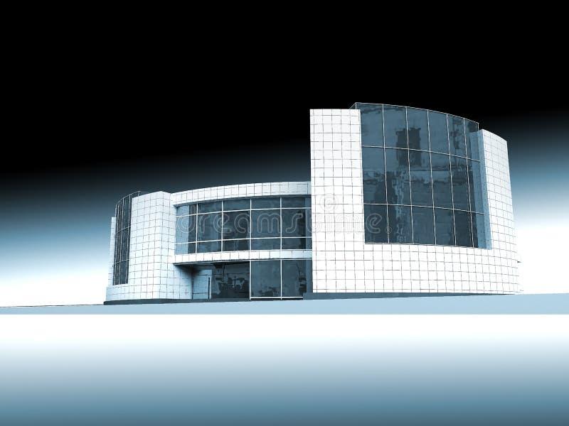 Estructura arquitectónica stock de ilustración