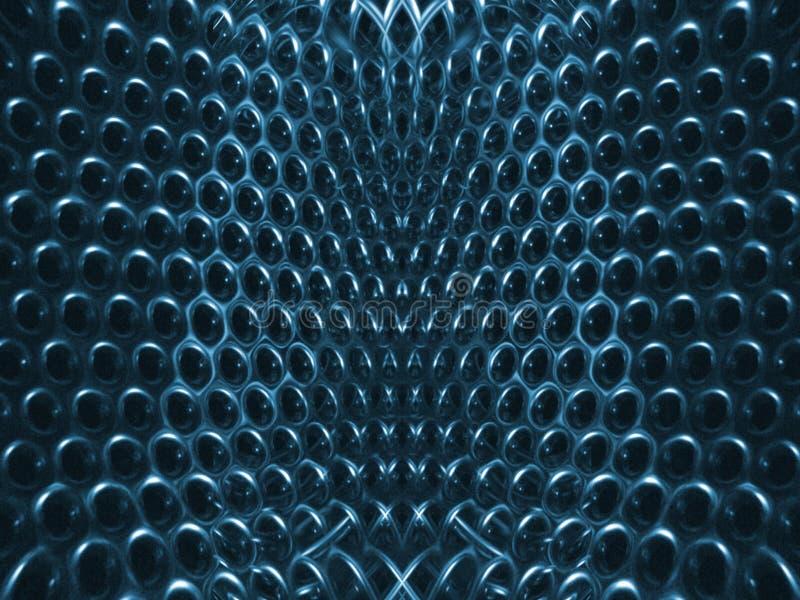 Estructura Azul Imagenes de archivo