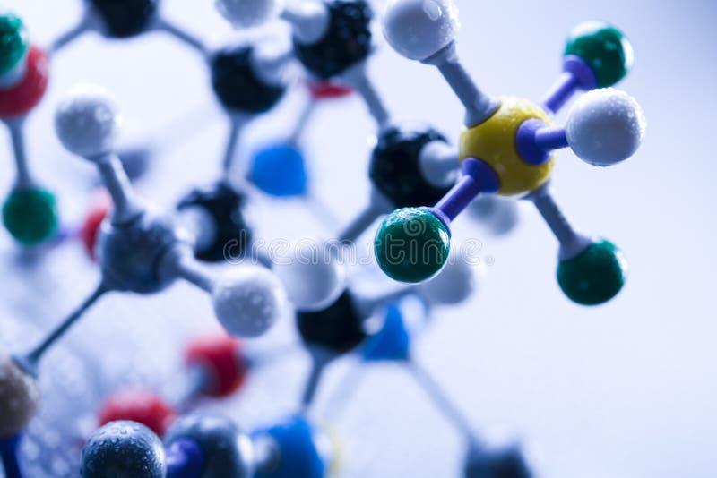 Estructura de la DNA imágenes de archivo libres de regalías