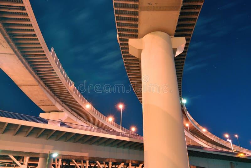 Estructura de las carreteras imagen de archivo libre de regalías