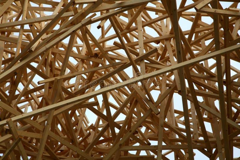 Estructura de madera fotos de archivo
