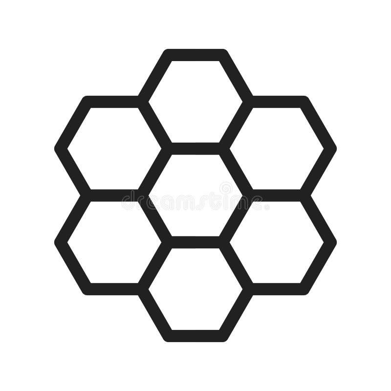 Estructura de organización stock de ilustración