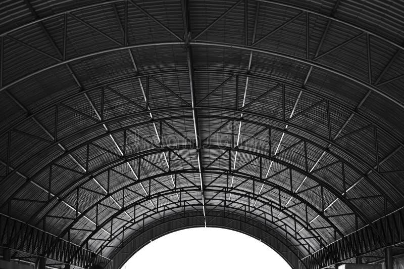 Estructura de tejado fotografía de archivo