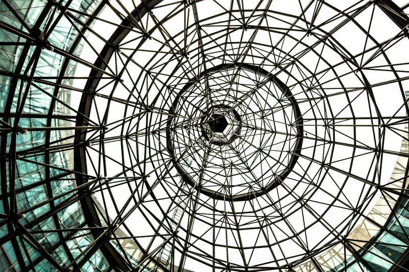 Estructura del tejado de la bóveda fotos de archivo