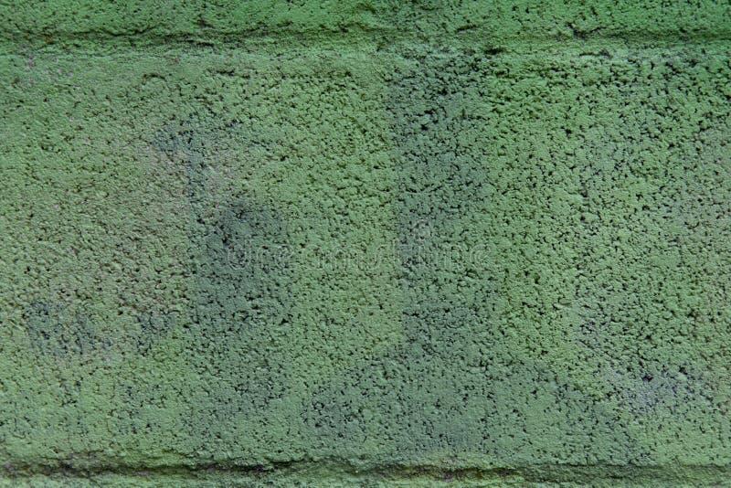 Estructura sólida del fondo granuloso verde fotos de archivo