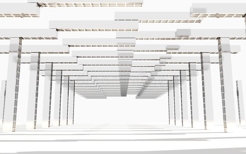 Download Estructura vacía interior stock de ilustración. Ilustración de construcción - 41914229
