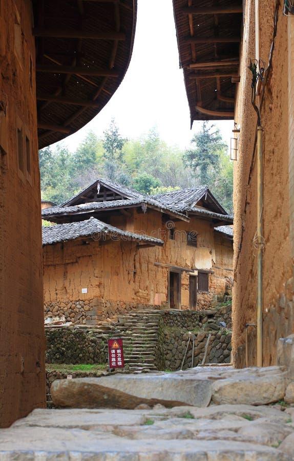 Estructuras de tierra de Fujian imágenes de archivo libres de regalías