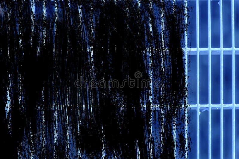 Estrutura à terra de aço ultra azul do Grunge Textura de aço inoxidável, fundo para a site ou dispositivos móveis fotografia de stock royalty free