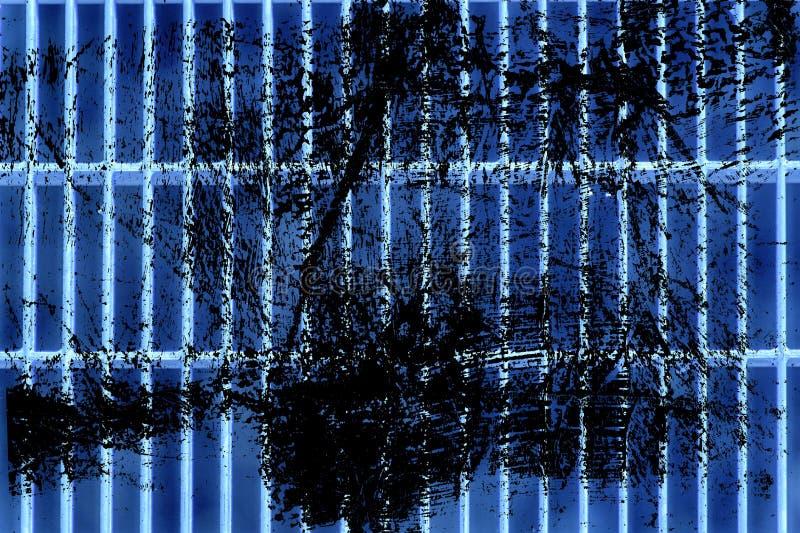 Estrutura à terra de aço ultra azul do Grunge Textura de aço inoxidável, fundo para a site ou dispositivos móveis imagens de stock royalty free