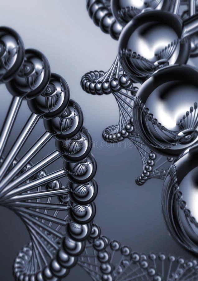 Estrutura 02 do ADN imagens de stock royalty free