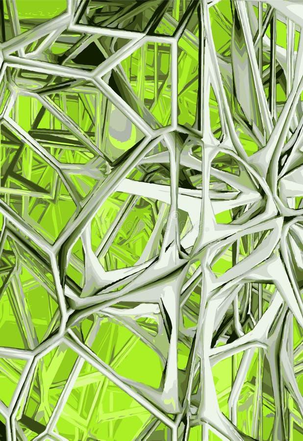 Estrutura abstrata ilustração do vetor