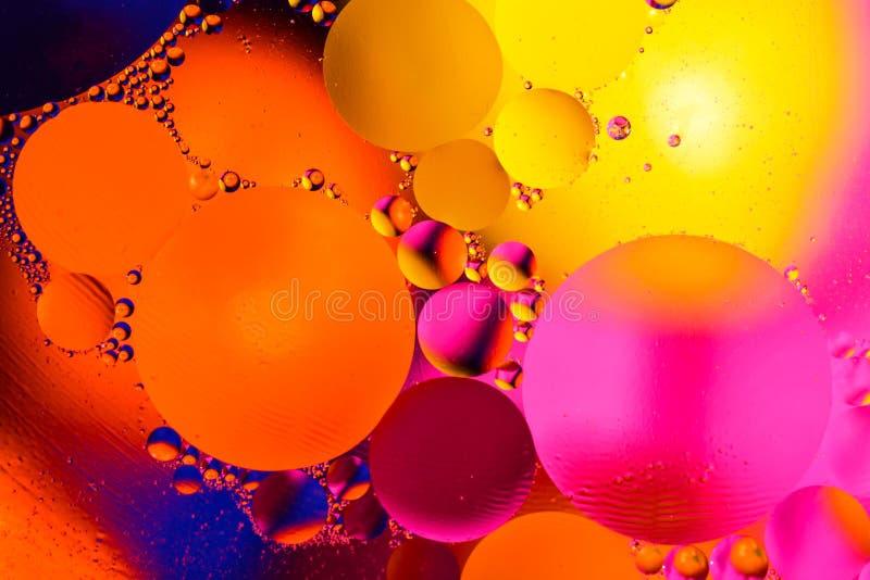 Estrutura abstrata da molécula Tiro macro do ar ou da molécula abstraia o fundo Fundo abstrato do espaço ou dos planetas F seleti imagens de stock