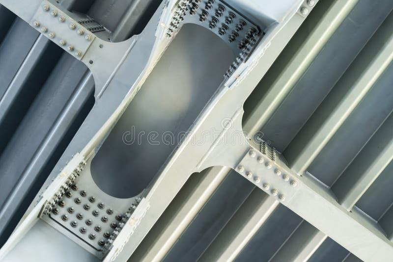 Estrutura cinzenta do metal Fim acima fotos de stock