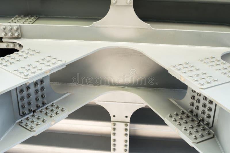 Estrutura cinzenta do metal Fim acima imagem de stock royalty free