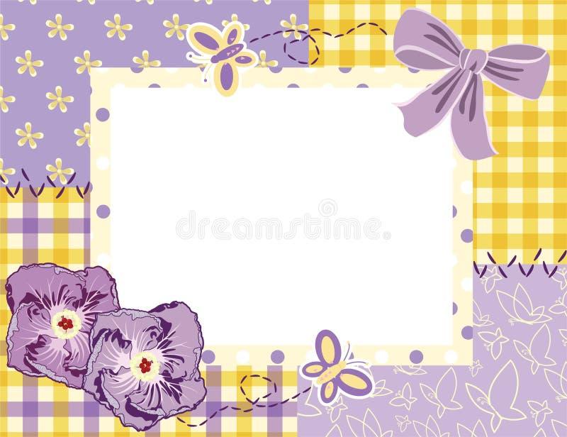 Estrutura da foto ilustração stock