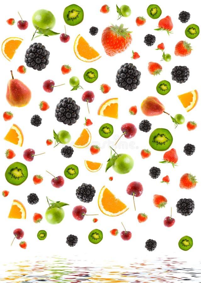 Estrutura da fruta diferente imagem de stock royalty free