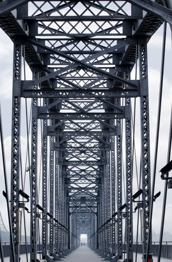 Estrutura da ponte imagens de stock
