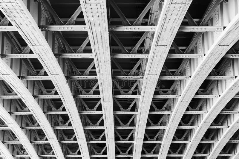 Estrutura da ponte de Brooklyn fotos de stock
